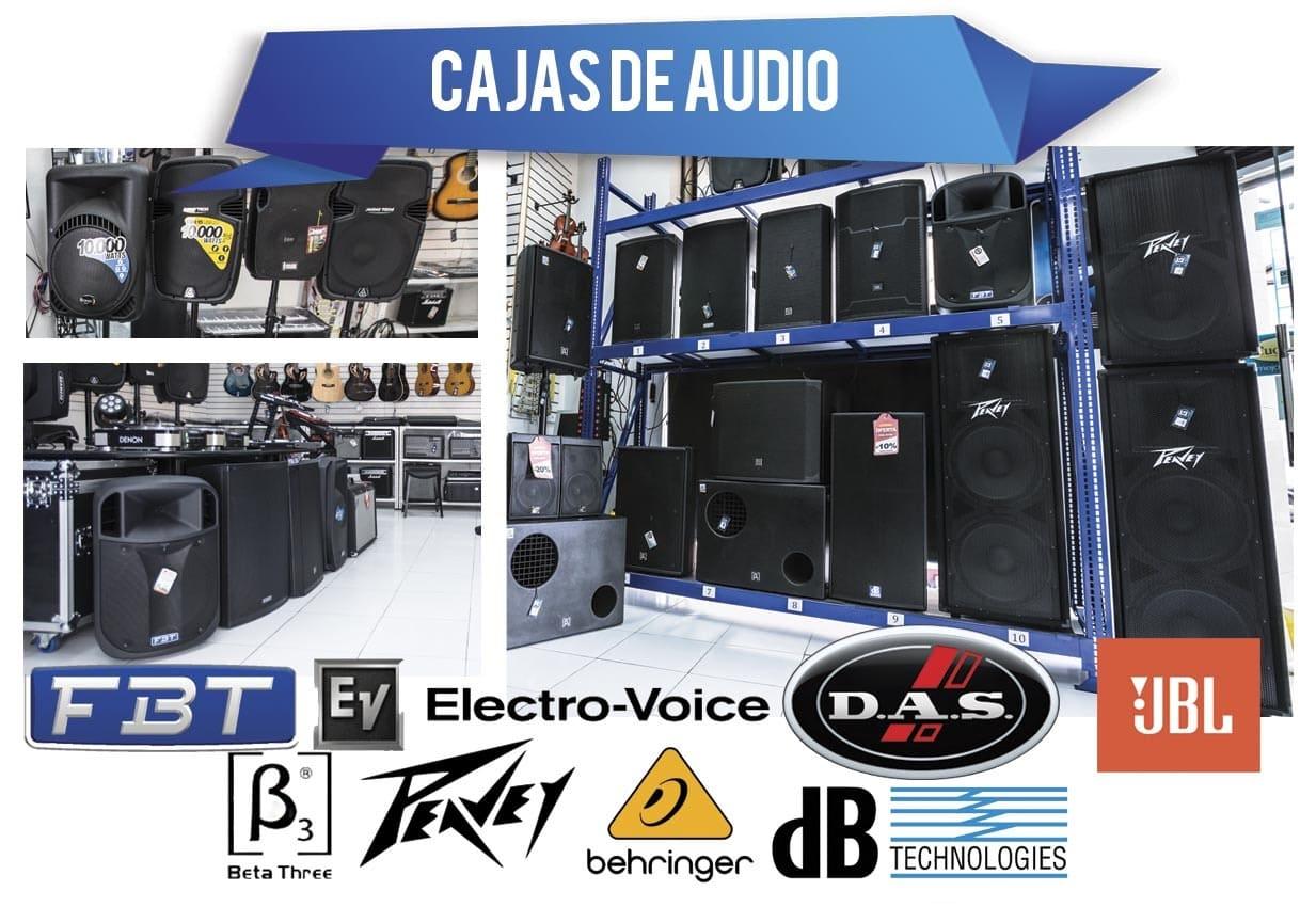 Cajas de Audio